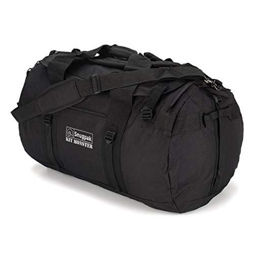 Snugpak Monster Bag Kit, Black, 120-Liter
