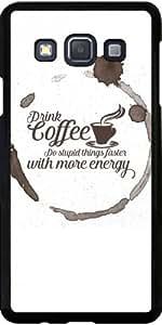 Funda para Samsung Galaxy A3 (SM-A300) - Tomar Café by wamdesign