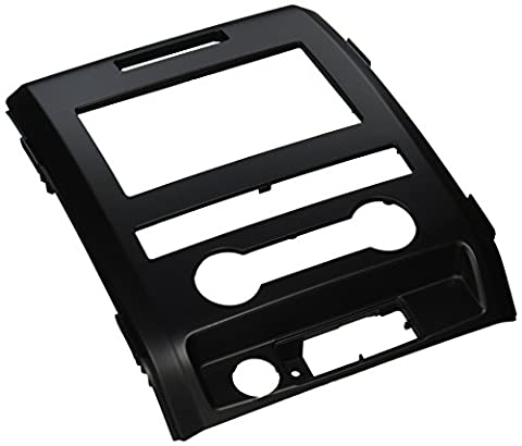 SCOSCHE FD1438B 2009-12 Ford F-150 XL Double DIN or DIN w/pocket Install Dash Kit - Ford Installation Kit