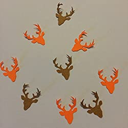 1in Confetti Set, Deer Cut Out, Deer Hunting Theme, Hunting Decorations, Autumn Theme, Rustic Theme, Fall Decorations, Animal Party Supplies