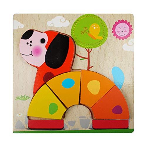 [해외]Educational Learning Toys Gift for Girls Boys BabyKids Children`s Wooden Animal Puzzles for Toddlers 1 2 3 Years Old Boys Girls Children Educational Toy Gift (Q) / Educational Learning Toys Gift for Girls Boys BabyKids Children`s W...