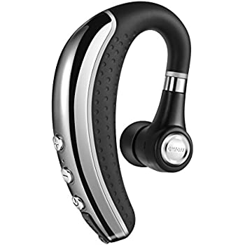 Bluetooth Headset Wireless Earpieces ,Adseon Bluetooth Headphones Hands Free In Ear Stereo Earbuds Lightweight Noise Cancelling Sweatproof Earphones with iPhone,Samsung ,Android Cell Phones