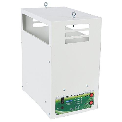 Titan Controls HGC702869 Ares 10 Liquid Propane CO2 Generator 10 Burner - 26.5 CUFT/HR, White