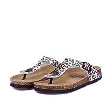 New Beach Cork Flip Flops Slipper Women Mixed Color Outdoors Sandals
