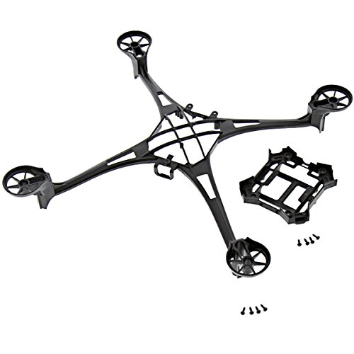 Traxxas LaTrax Alias Quadcopter * MAIN FRAME & LOWER * w/ Screws Black Canopy (Canopy Latrax)