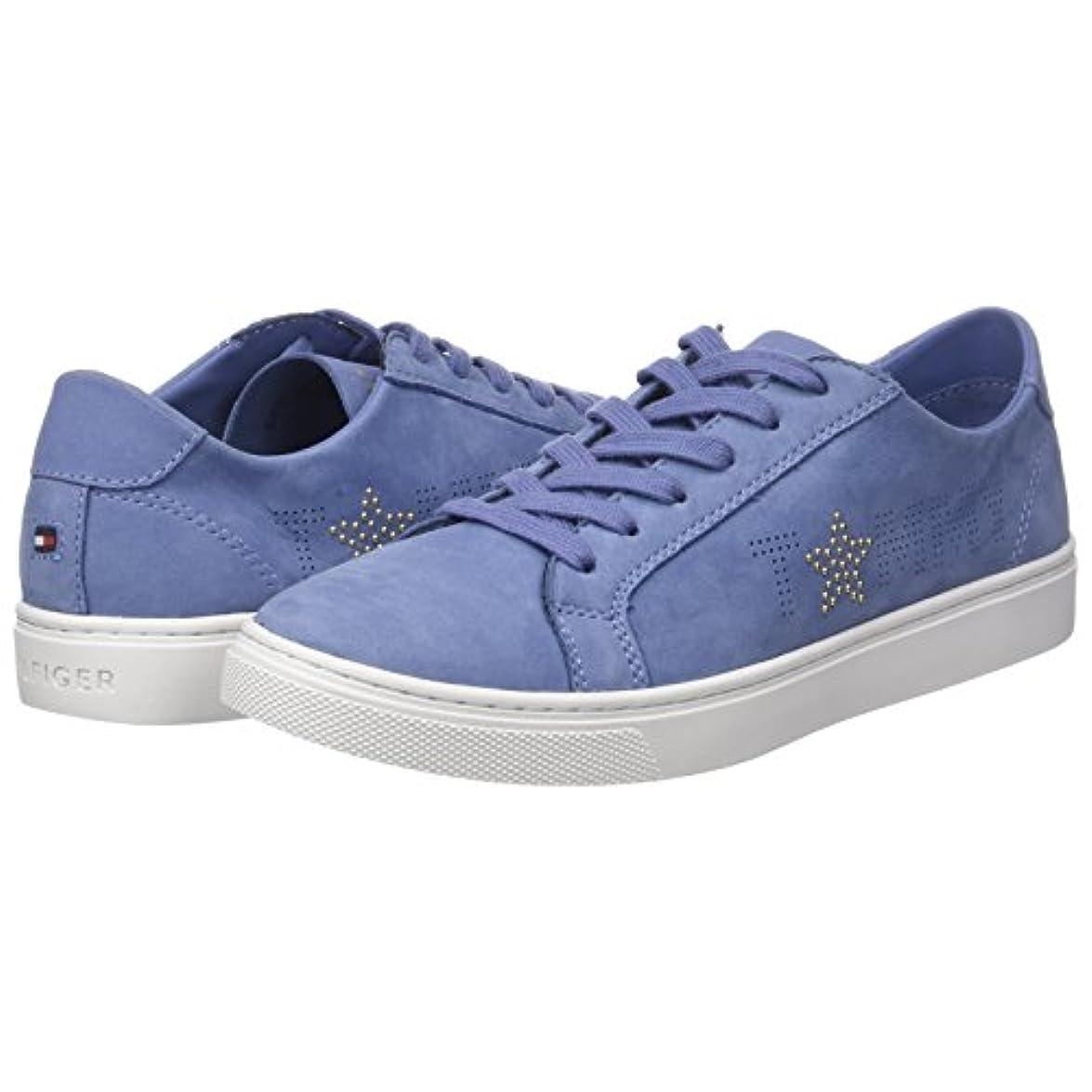 Tommy Hilfiger Star Nubuck Sneaker Scarpe Da Ginnastica Basse Donna
