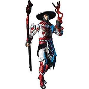 "Best Epic Trends 411ER-E1M4L._SS300_ McFarlane Toys Mortal Kombat Raiden Bloody White Hot Fury Skin 7"" Action Figure, Multicolor"