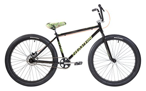 Eastern Bikes Growler 26'' Cruiser Bike, Black, 14.5''/One Size by Eastern Bikes