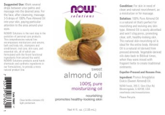 Now Foods Variety Moisturizing Oils Sampler: Sweet Almond, A