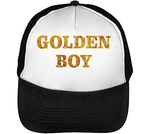 Golden Boy Dope Graphic Gorras Hombre Snapback Beisbol Negro Blanco