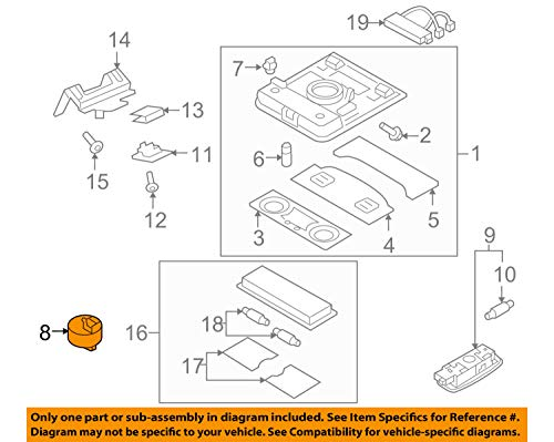 (VOLKSWAGEN 1K9959561AYBD GENUINE OEM SUNROOF SWITCH)