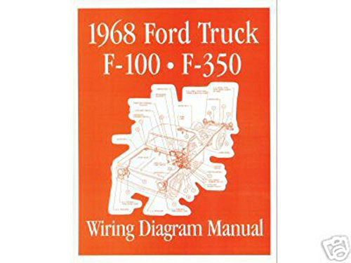 1968 Ford F-100 F-150 To F-350 Truck Electrical Wiring Diagrams Schematics OEM