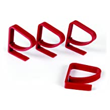 Camco 44003-X Tablecloth Clamp - 4 pack (Red)
