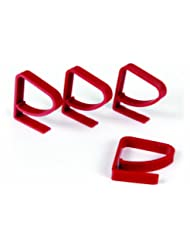 Camco 44003 Tablecloth Clamp - 4 pack (Red)