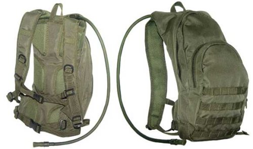 Tactical Hydration Back Pack OD, Outdoor Stuffs