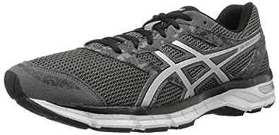 ASICS Men's Gel-Excite 4 Running Shoe, Carbon/Silver/Black, 8 M US