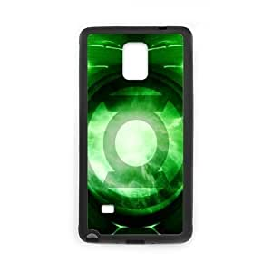 Zyhome Galaxy Note4 Big Comics Green Lantern Logo Case Cover for SamSung Galaxy Note4 (Laser Technology)