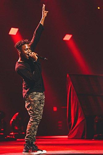 Isaiah Rashad Rap Music Hip-Hop Poster
