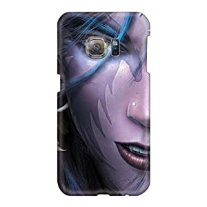 Bumper Hard Phone Covers For Samsung Galaxy S6 With Allow Personal Design Realistic Night Elf Wow Image TimeaJoyce