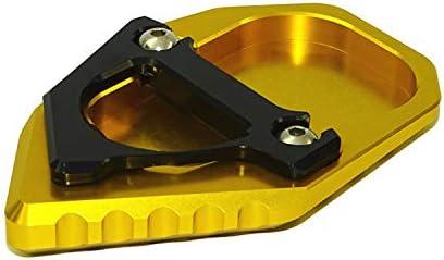 Metermall p/édale Support lat/éral de la Plaque de Support de la Plaque dextension de Moto pour BMW R Nine T 17-18 Noir