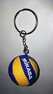 FTFSY Deporte Voleibol de Playa PVC Llavero llaveros Cadena ...