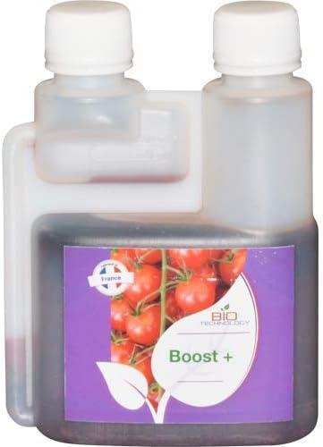 Bio Technology® | Fertilizante Aditivo para Floración | Acelerador de Madurez | Estimulador para Flores | Estimulador de Alto Rendimiento Boost + - 250 ML