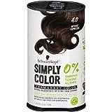 Schwarzkopf Simply Color Permanent Hair Color, 4.0