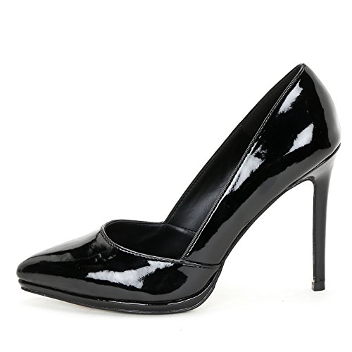 Scarpe Vernice Scarpe amp;scarpe Vernice Col Tacco Alesya Nero In f4dxBqA0
