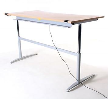 Assmann Schreibtisch Elektr Hohenverstellbar B 200 X T 100 80 X H