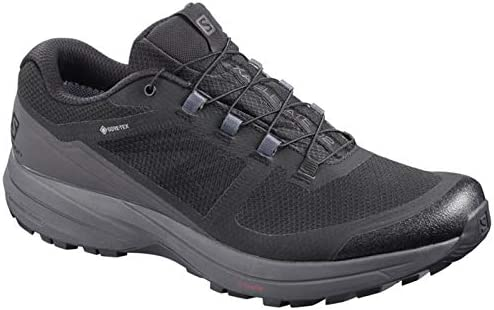 SALOMON XA Elevate 2 GTX Gore-Tex Mens Trail Running Shoes, Black ...
