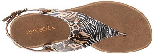 Aerosoler Kvinna Conchlusion Gladiator Sandal Safari Print