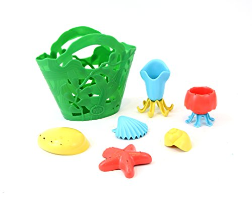 (Green Toys Tide Pool Bath Set, Assorted)