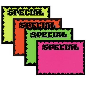 3 1 2  X 5 1 2  Retail Store Sale Sign Cards  Special  Pack Of 100