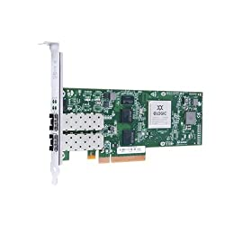 QLogic QLE8240-CU Single Port 10GbE PCIe FCoE & iSCSI Converged Network Adapter with Empty SFP+ Cage