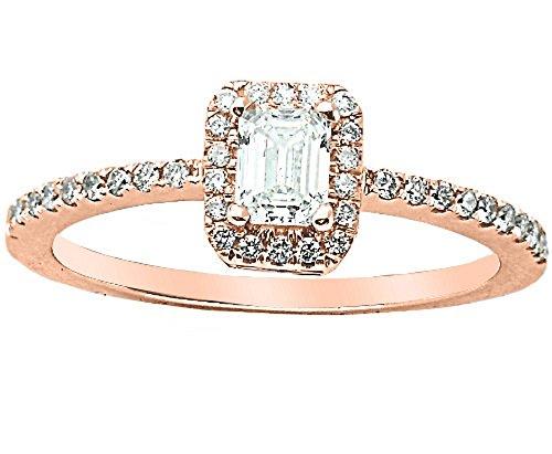 0.75 Ct Emerald Cut Diamond - 6