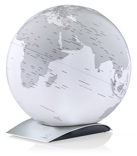 Atmosphere Terrestrial Globe Capital Q International Code All Directions Rotary Type White