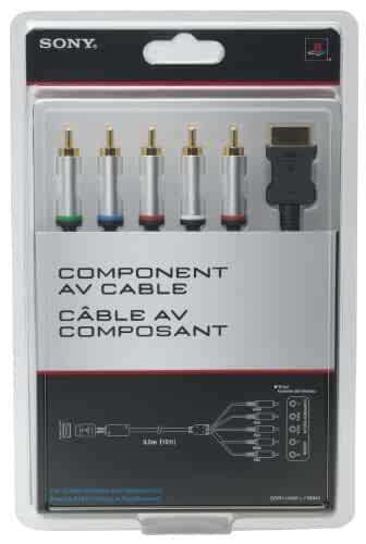 amazoncom ps3 component av cable video games