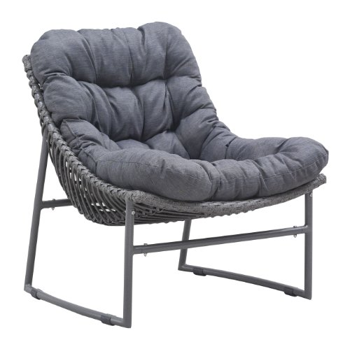 ZUO VIVE Ingonish Beach Chair, Grey (Discontinued by Manufacturer) price