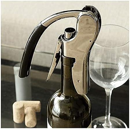 Abrebotellas de Vino Sacacorchos de Vino Sacacorchos Vertical Compacto Destornillador de Vino portátil Herramienta Corcho doméstico Sacacorchos de Vino Sacacorchos