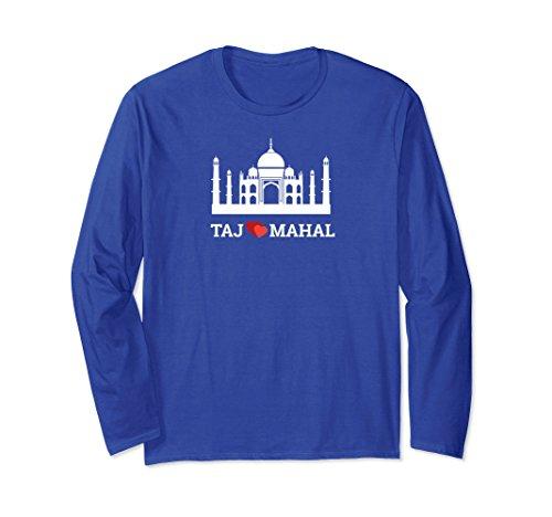 Unisex Tajmahal t-shirt for Valentine's day Small Royal Blue