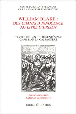 Amazoncom William Blake Des Chants Dinnocence Au Livre D