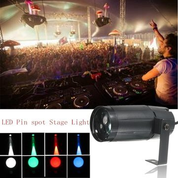 Led Stage Lights - Stage Decoration Lights - 3W Moonflower Spotlight DJ Party Club Stage - Green (Stage Spot Light)
