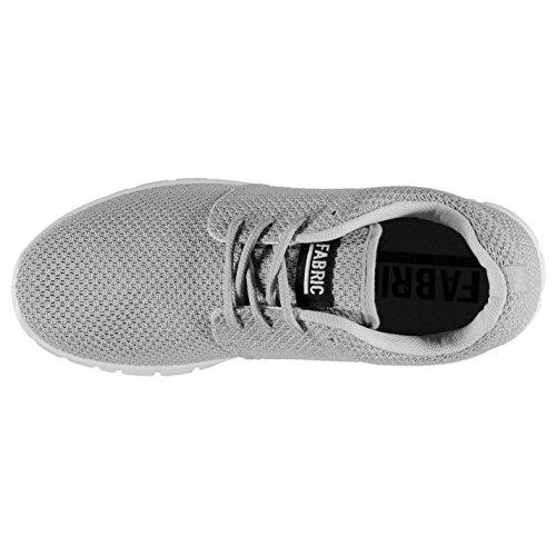 Grigio Ginnastica Mercy Tessuto Donna Calzature Da Grey Sneakers Sportive Run Scarpe xYCwaq7