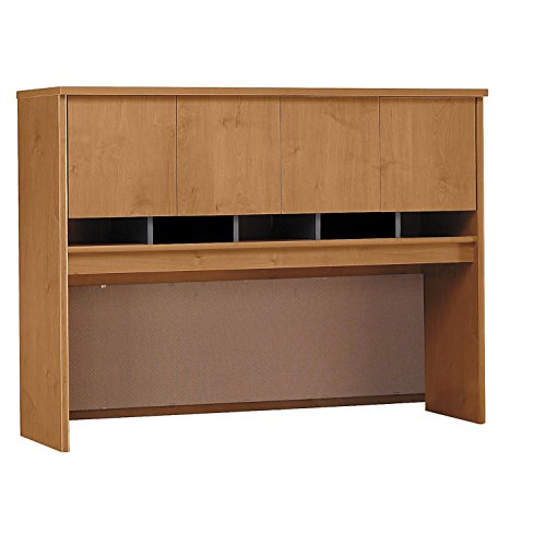 Bush Business Furniture Series C Collection 60W Hutch in Natural - Cherry Collection Natural