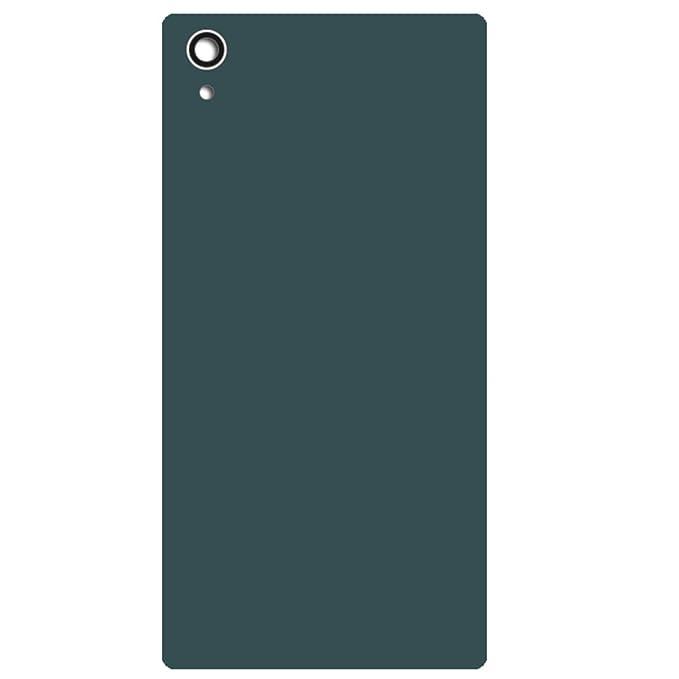 UU FIX Akkudeckel Ersatz Hoch Geeignet für Original Sony Xperia Z5 E6853 Dual E6833 E6883 (grün) Rückseite Battery Cover Ersa