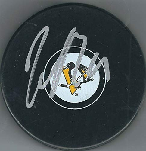 - Autographed Jared McCann Pittsburgh Penguins Hockey Puck