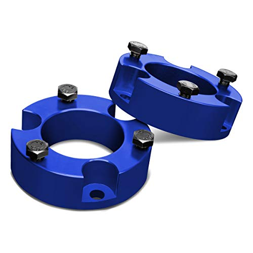 (For Tacoma 4Runner 2WD 4WD Blue 3 inches Front Spacers Leveling Lift Kit)