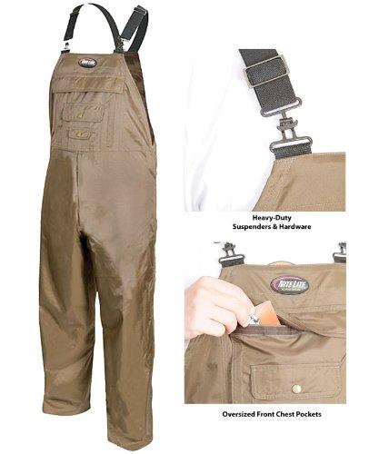 Nite-Lite PRO UN-INSULATED BIB SZ 3XL W/ 100% Sealed Seams Waterproof Protection by Nite Lite