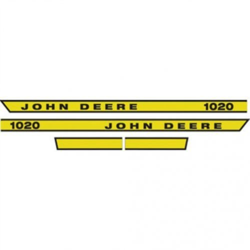 All States Ag Parts 1020 Hood Decal John Deere 1020