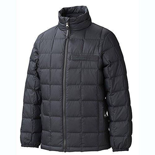 Galleon - Marmot Kids Boy s Boy s Ajax Jacket (Little Kids Big Kids) Black  Small 47b19d44f